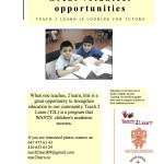 Tutors Wanted!