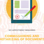 COMMISSIONING & NOTARIZING